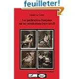 Publications Françaises Sur les Prostitutions 1975 2008