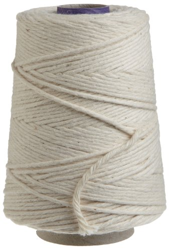 Regency Natural Cooking Twine 1/2 Cone 100% Cotton