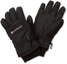 Carhartt Men\'s W.P. Waterproof Insulated Work Glove, Black, Medium