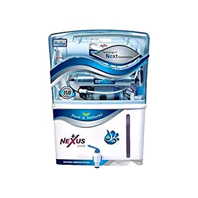 Aqua Frisch Nexus Grand 8 Stage Ro+uf+uv+tds 12 Ltr Water Purifier