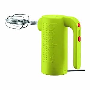 BODUM Bistro Electric Hand Mixer, Lime Green