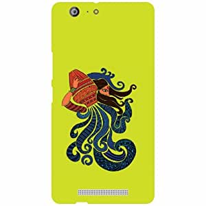 Gionee Marathon M5 Back cover - Aquarius Designer Cases