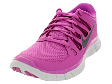 Nike Free 5.0+ (Red Violet/Bright Magenta/Summit White/Iron Ore) Women's Running Shoes (Red Violet/Bright Magenta/Summit White/I)