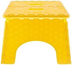 B & R Plastics 1016Y E-Z Foldz Yellow Step Stool