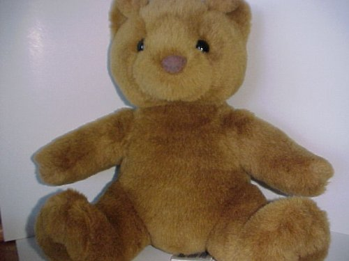 Original 1997 Build A Bear Classic Bear - Sitting Brown Bear - U S Patent Pending Loop Label - 1