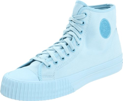 PF Flyers Men's Center Hi Fashion Sneaker,Sky Blue,10.5 D US