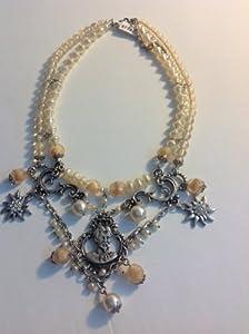 Alpenwahn Perlenhalskette K Nig Ludwig Trachtenkette