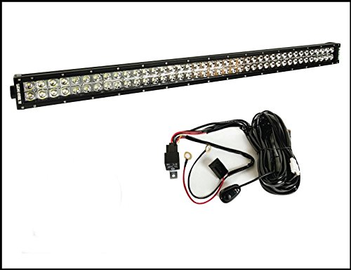 """All Terrain Concepts - Combo Kit 41.5"""" Led Light Bar + Switch Kit Wire Harness Jeep Offroad Great Buy!"""