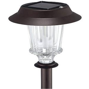 alpan stainless steel solar garden light set