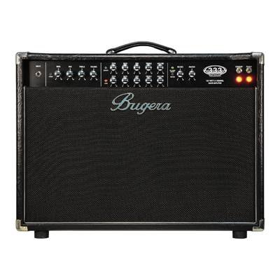 Bugera 333-212 Infinium Hardcore 120 Watt 3 Channel Valve Combo With Reverb And Infinium Valve Life Multiplier Bu032