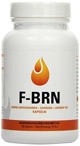 Vihado F-BRN - Grüne Kaffebohnen, Grüner Tee, Guarana, 100...