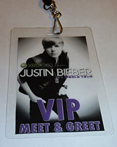 justin bieber meet and greet vip package