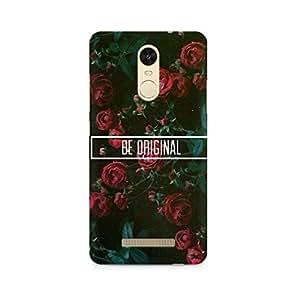 Rayite Be Original Premium Printed Case For Xiaomi Redmi Note 3