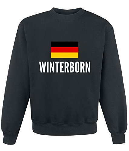 Felpa Winterborn city Black