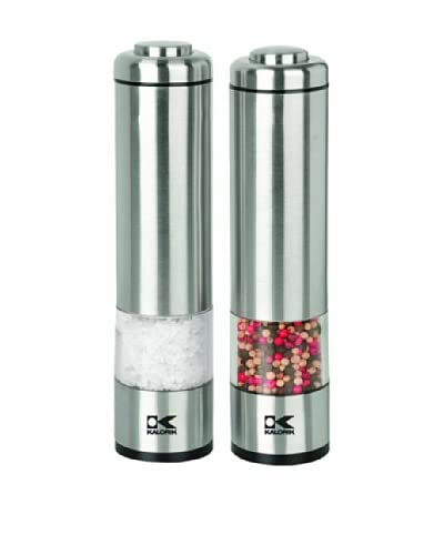 Kalorik Salt and Pepper Grinder Set, 2 x 2 x 8.25
