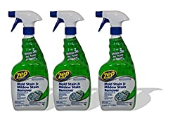 Mold Stain and Mildew Stain Remover, 32 oz Spray Bottle (3 pack)