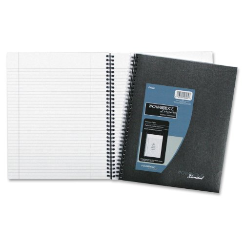 41RtPHhyr9L. SL500  Mead Cambridge Limited Business Notebook Legal Ruled 1 Subject (06062)