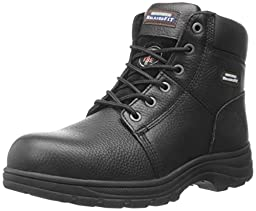 Skechers for Work Men\'s Workshire Boot, Black, 8.5 W US