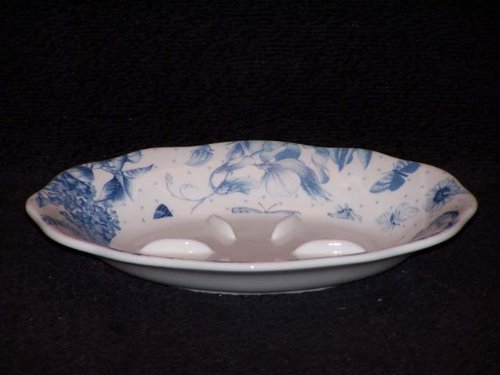 Portmeirion Botanic Blue Soap Dish