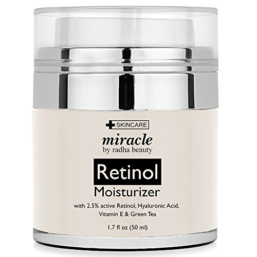 Retinol Moisturizer Cream for Face -  2.5% retinol,