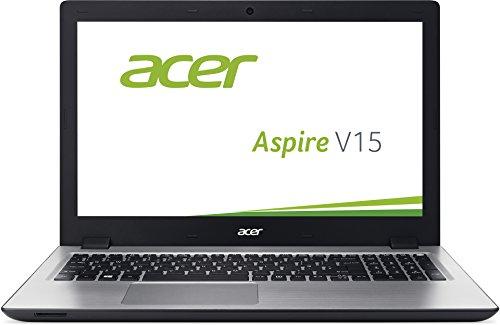 Acer Aspire V 15 (V3-574-73MU) 39,6 cm (15,6 Zoll Full HD) Notebook (Intel Core i7-5557U, 8GB RAM, 256GB SSD, Intel Iris Graphics 6100, DVD, Win 10 Home) schwarz