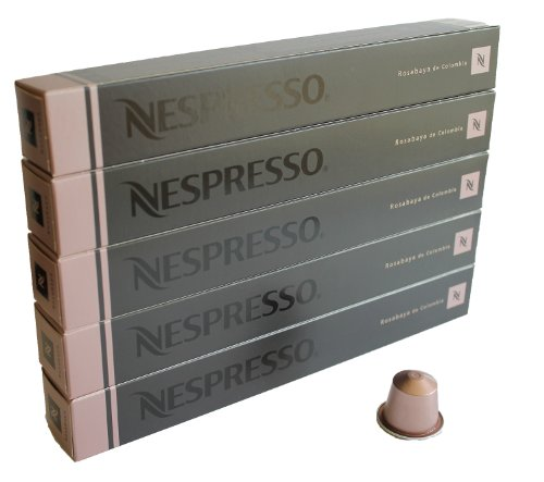Shop for 50 Rosabaya de Colombia Nespresso Capsules Espresso Lungo from Nestlé