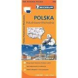 Mapa Regional Polska Póludniowo-Wschodnia / Poland South East (Michelin Regional Maps)