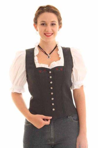 Moser Damen Mieder Donaumoos 44018 Größe: 40 Farbe: anthrazit
