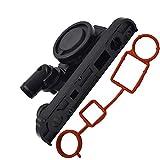 labwork-parts PCV Crankcase Vent Valve + Gasket for VW Jetta GTI Audi TT A3 A4 2.0T 06F129101 Warranty:1 Year