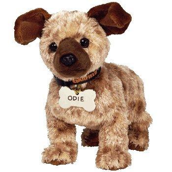 TY Beanie Baby - ODIE the Dog ( Garfield Movie Beanie ) [Toy] - 1