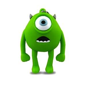 818-Shop No13700040032 Hi-Speed 2.0 USB-Sticks 32GB Alien Monster Einauge 3D grün