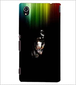 PrintDhaba Abstract Image D-3762 Back Case Cover for SONY XPERIA M4 AQUA (Multi-Coloured)