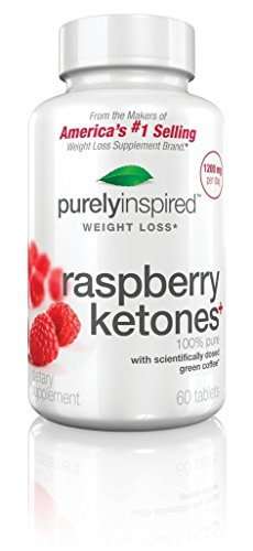Purely Inspired Raspberry Ketones, 60 Tablets, Pack Of Two