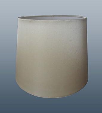 "8"" Cream Faux Silk Lampshade"