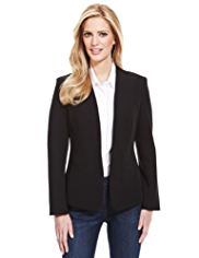 M&S Collection Open Front Jacket