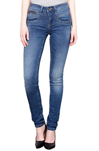 Freeman T. Porter -  Jeans  - skinny - Basic - Donna flexy blue L