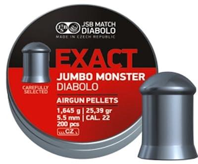 JSB Diabolo Jumbo Exact Monster .22 Caliber