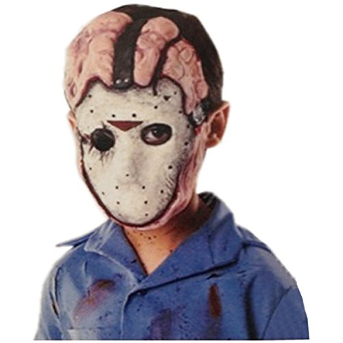 Friday the 13th Deluxe Jason Child Costume Mask