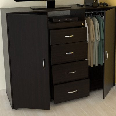 """57"""" Tv Stand With Armoire"""