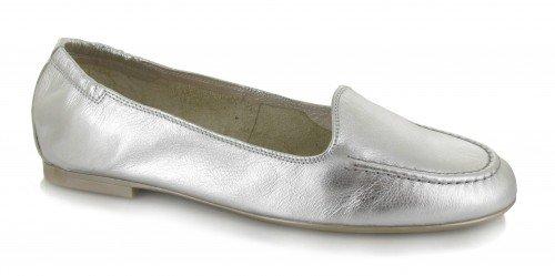 Hispanitas, Ballerine donna Argento Caribu-plata