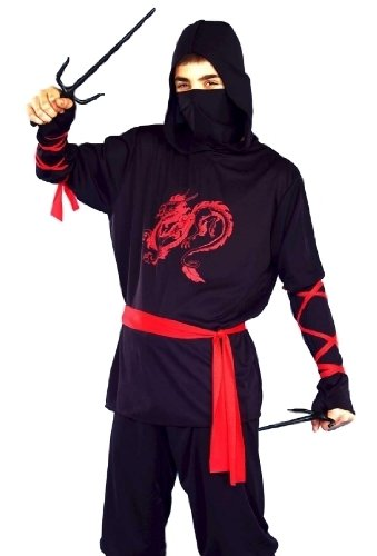 Ninja Warrior Teen Costume
