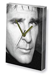 SCOTT BAKULA - Canvas Clock (A5 - Signed by the Artist) #js001