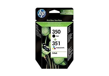 HP SD412EE Cartouche d'encre Noir, Bleu, Rose, Jaune