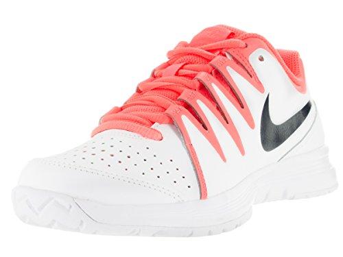 Nike Women's Vapor Court White/Obsdn/Brght Mng/Atmc Pnk Tennis Shoe 9 Women US