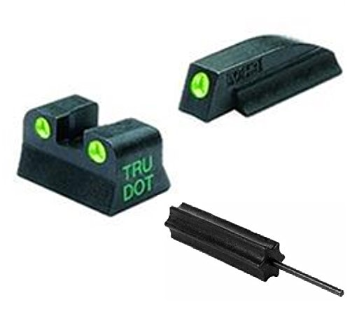 Meprolight The Mako Group Ml10662 Beretta M9 & 92 Tru-Dot® Night Sight Set - Baretta Cougar + Ultimate Arms Gear Pro Disassembly 3/32 Pin Punch Armorers Gunsmith Tool