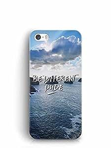 YuBingo Be Different Dude Designer Mobile Case Back Cover for Apple iPhone 5