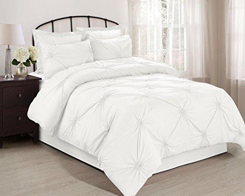 Buy Discount 6 Piece EMERYVILLE Elastic Embroidered Comforter Sets- Queen King Cal.King Size (Queen,...