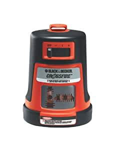 Black & Decker BDL310S-CA Projected Crossfire Auto Level Laser