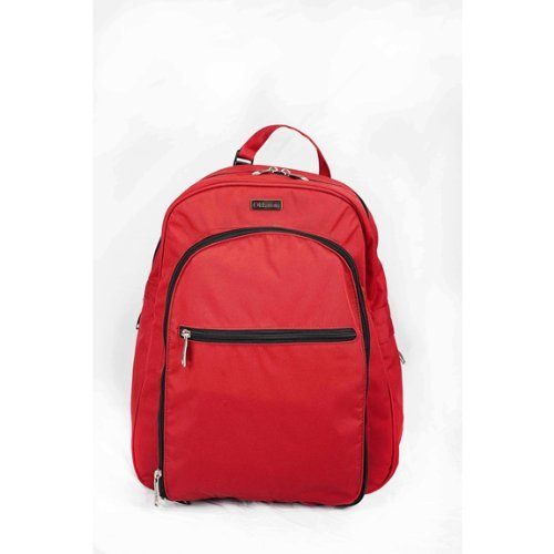 Okkatots Backpack Diaper Bag in Red