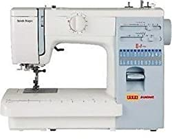 Usha Janome Automatic Stitch Magic 85-Watt Sewing Machine(White and Blue)